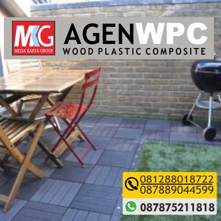 jual wood plastic composite